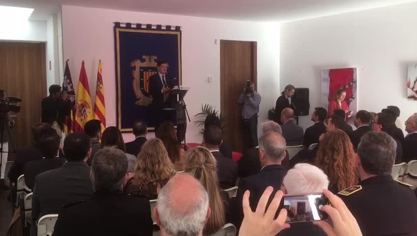 Las instituciones defienden en Ibiza la Constitución como marco modificable