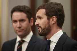 Casado acusa a Sánchez de ir «contra la Constitución» con una «agenda de ruptura»