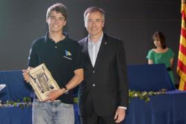 El regatista Carlos Roselló, mejor deportista de 2011