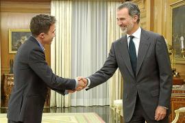 Felipe VI se reúne con el diputado de Más País Iñigo Errejón, en la ronda de consultas