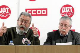 Los sindicatos llaman a movilizarse para cambiar la política del Gobierno