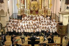 Sant Josep 'canta' la llegada de las Navidades