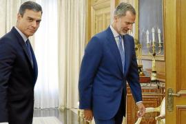 Felipe VI propone por tercera vez a Pedro Sánchez como candidato a la investidura