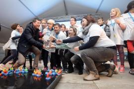 El grupo Balansat-Buscastell, ganador del primer Eivissapiens 'mariner'