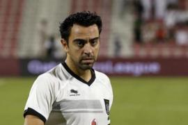Xavi Hernández es entrenador de un equipo de fútbol en Qatar