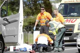 Muere al chocar de frente con su moto contra un coche en Can Marçà