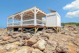 El kiosco de Cala Gració quiere solicitar una prórroga tras finalizar su concesión en 2020