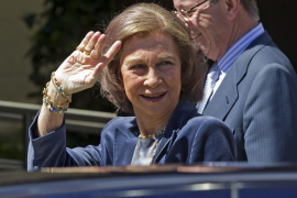 La Reina pasa unos días en Washington por el cumpleaños  de su nieto