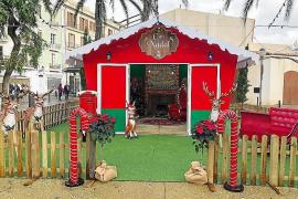 La caseta de Navidad del Ayuntamiento de Ibiza abre sus puertas este sábado