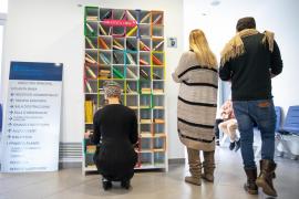 Inaugurada la primera Biblioteca Libre en el centro de salud de Sant Josep