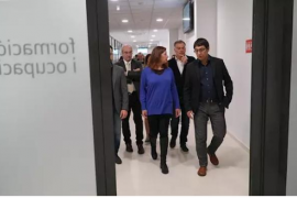Armengol inaugura la nueva sede del SOIB en Ibiza