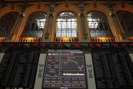 La bolsa española cierra cayendo a niveles de marzo de 2009