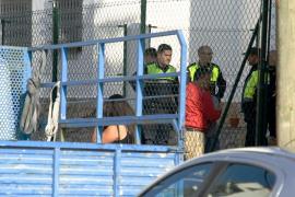 Un niño de siete años muere en Eivissa al caerle encima una columna de hormigón