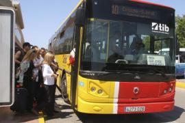 La línea de autobús entre Santa Eulària y Siesta funcionará también en invierno