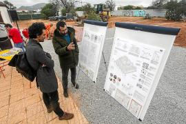 El Govern comienza las obras de 24 VPO en Platja d'en Bossa