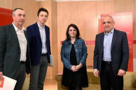 Reunión entre el PSOE y Más País.