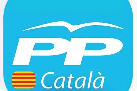 PP de Catalunya incorpora a su logo una 'senyera' y la palabra 'català'