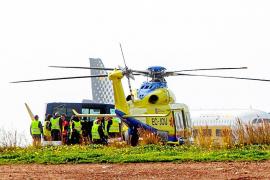 El helicóptero sanitario de Babcok ya está en Ibiza para reemplazar a Eliance