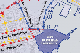 Vila quiere que Ignasi Wallis sea solo de entrada en el nuevo plan de movilidad
