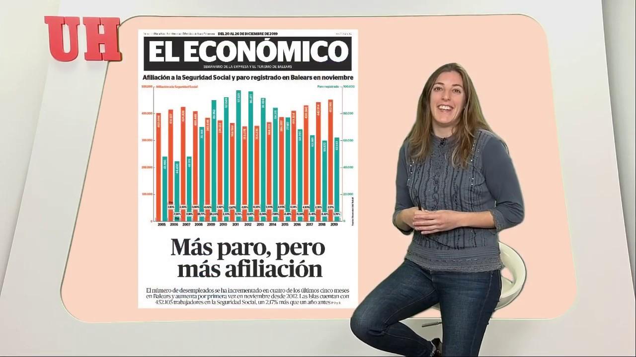 Punto de inflexión del empleo en Balears