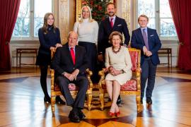 Foto oficial de Navidad de la Familia Real noruega