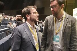Pere Aragonès y Toni Noguera