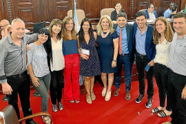La Plata reconoce la labor de la concejala de Igualdad del Ayuntamiento de Sant Josep