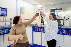 Dos quintos premios dejan 1,2 millones de euros en varios municipios de Ibiza
