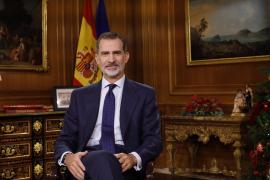 El rey Felipe VI admite que Cataluña es una «seria preocupación» y pide respetar la Constitución