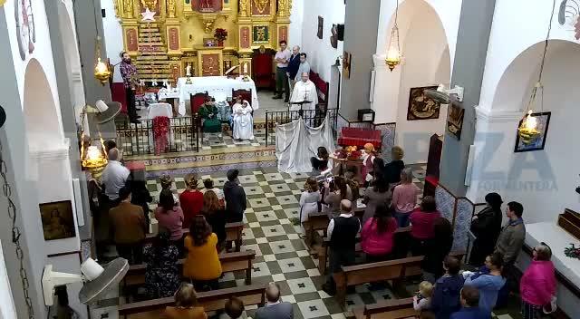 El Belén viviente de Sant Carles recibe a medio centenar de personas