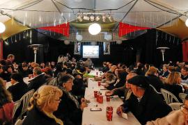 Aspanadif, entidad beneficiaria del bingo de Navidad organizado por la AAVV Sa Raval en Sant Josep