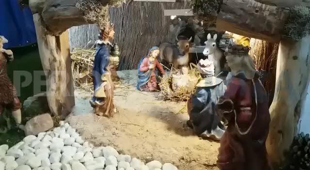El belén de Joan 'Butigues' trata de acercar el nacimiento a Sant Joan