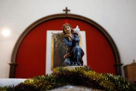 El belén inspirado en el poblado de Sant Llorenç, en imágenes .