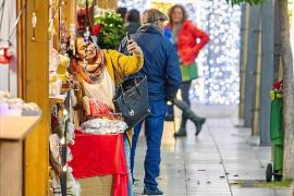 Sant Antoni estrena mercado navideño con conciertos en el Passeig de ses Fonts
