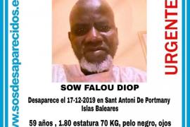 Las batidas por Sant Antoni no dan con el rastro del hombre senegalés desaparecido hace diez días