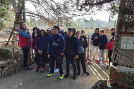 Alumnes de 1er de la ESO de l'IES Ramon Lull de Palma, varen visitar Natura Parc