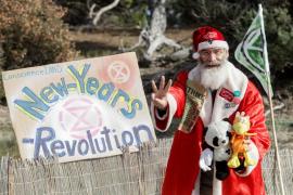 El acto reivindicativo de Extinction Rebellion Ibiza, en imágenes (Fotos: Daniel Espinosa).