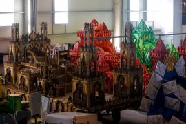 Las carrozas de los Reyes Magos de Ibiza, en imágenes .