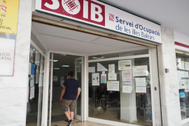El paro aumentó en Baleares un 2,08 % en diciembre