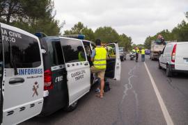 Las Pitiusas cierran 2019 con seis fallecidos en accidentes de tráfico en vías interurbanas