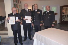 Cena y distinciones de la Real Asamblea de Capitanes de Yate, en el Club de Mar