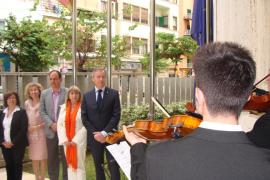 Acto institucional en el Consell d'Eivissa para recordar el nacimiento de la Unión Europea