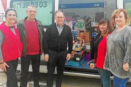 El PSOE de Sant Josep recoge más de 500 kilos de productos de primera necesidad para Cruz Roja