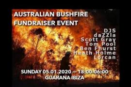 Música electrónica por los incendios de Australia