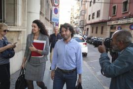 Jaume Garau y su abogada