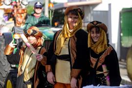 La visita de los Reyes Magos a Can Bonet, en imágenes (Fotos: Daniel Espinosa).