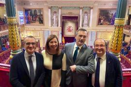 Juan Pedro Yllanes, Francina Armengol, Manuel Cruz y Miquel Iceta
