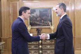 El Rey tras prometer Sánchez como presidente: «Ha sido rápido, simple y sin dolor. El dolor vendrá después»