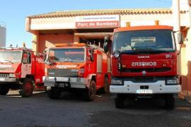 Los bomberos de Formentera realizaron 213 servicios durante 2019