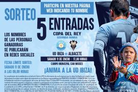 Sorteamos 5 entradas para el partido entre la UD Ibiza y el Albacete